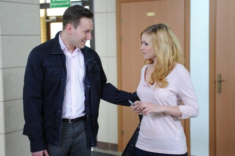 Czy związek Norberta (Kuba Świderski) i Kamili (Michalina Robakiewicz) ma szansę przetrwać? /Agencja W. Impact