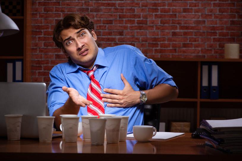 Czym grozi nadmiar kofeiny? /©123RF/PICSEL