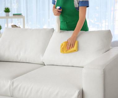 Czym najlepiej czyścić kanapę? Sposoby na uporczywe plamy