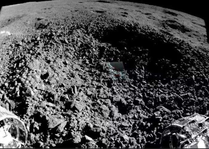 Czym są tajemnicze ślady na Księżycu? /materiały prasowe