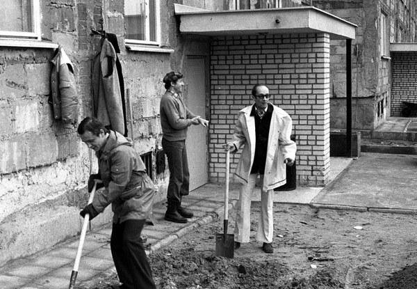 Czyn partyjny na osiedlu Wawrzyszew w Warszawie, 1976