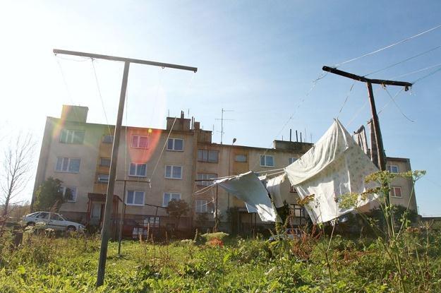 Czystogarb, osiedle byłych pracownikow PGR. fot. Jacek Wajszczak /Reporter