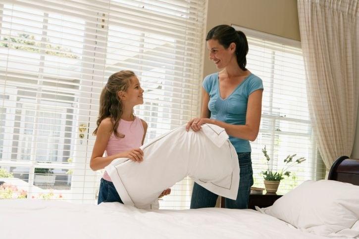 Czyszczenie poduszek i kołdry /© Photogenica
