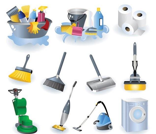 Czyszczenie sprzętu do sprzątania /© Photogenica