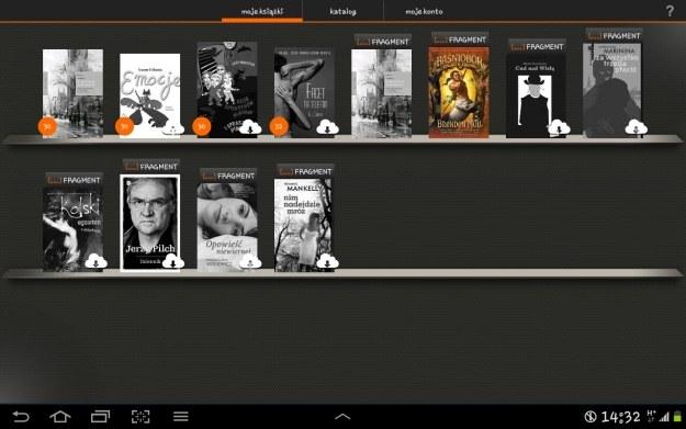 Czytelnia w tablecie – półka użytkownika /materiały prasowe