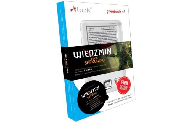 Czytnik Lark FreeBook i saga wiedźmińska /materiały prasowe