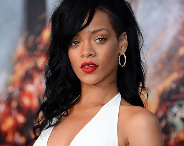 Czyżby Rihanna uzależniła się od tatuaży? - fot. Frazer Harrison /Getty Images/Flash Press Media