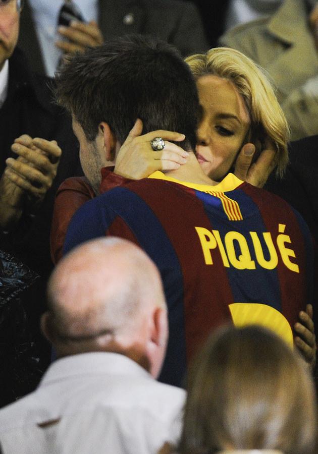 Czyżby Shakira i Picque naprawdę mieli niedługo zostać rodzicami? /David Ramos /Getty Images