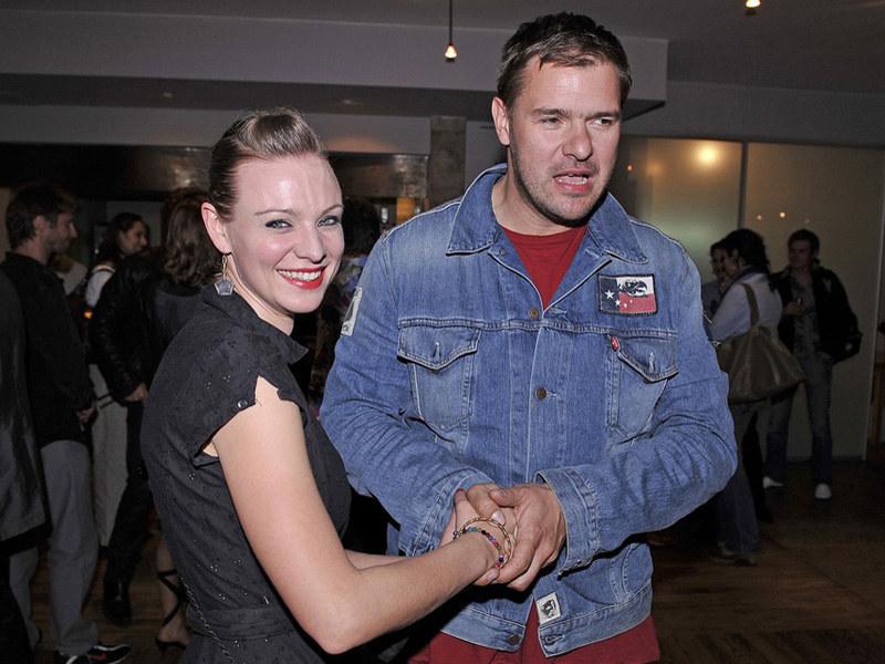 Czyżby uczucie między aktorską parą miało znów rozkwitnąć?  /Michał Baranowski /AKPA