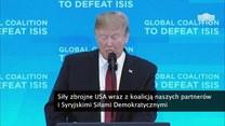 D. Trump: Z ISIS zostały niedobitki. W przyszłym tygodniu ogłosimy zajęcie 100 proc. kalifatu