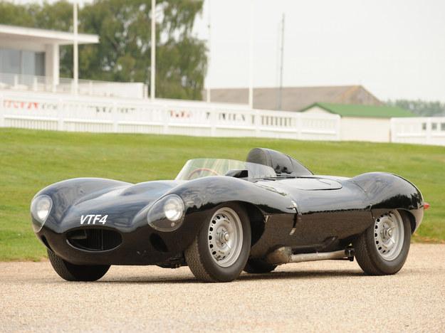 D-Type – trzy zwycięstwa w Le Mans. Silniki 3.4-3.8, 250-265 KM, 0-100: ok. 5 s. /Jaguar