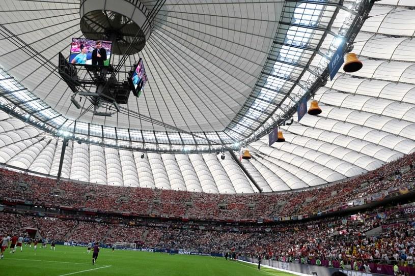 Dach na Stadionie Narodowym w Warszawie /Małgorzata Kujawka /