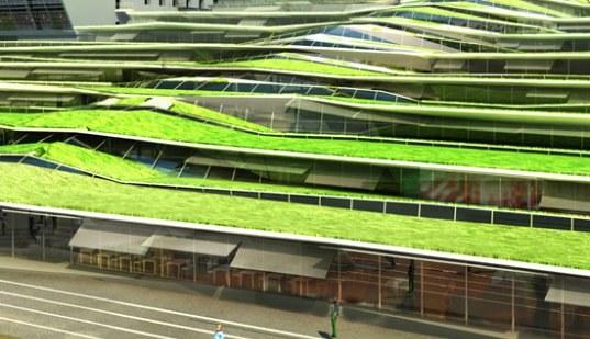 Dachy budynków handlowych we Francji będą zielone nie tylko z nazwy /materiały prasowe