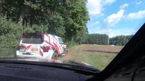 Dacia Duster Elf Cup 2018. Szybka jazda i... dachowanie w wodzie