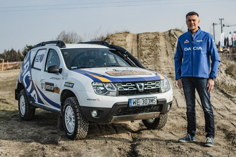 Dacia Duster i Krzysztof Hołowczyc /