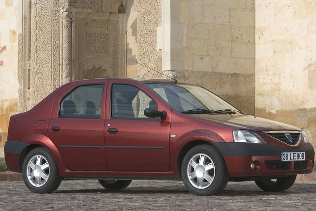 Dacia logan / kliknij /INTERIA.PL