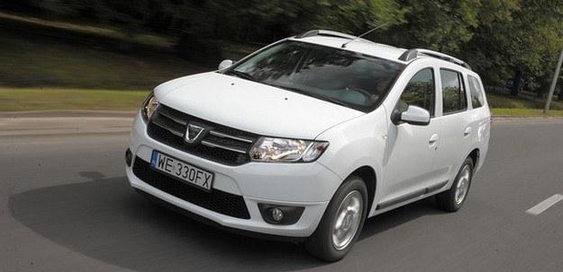 Dacia Logan MCV 1.2 LPG - dzięki zasilaniu gazowemu ma najniższe koszty pokonania 100 km. /Motor