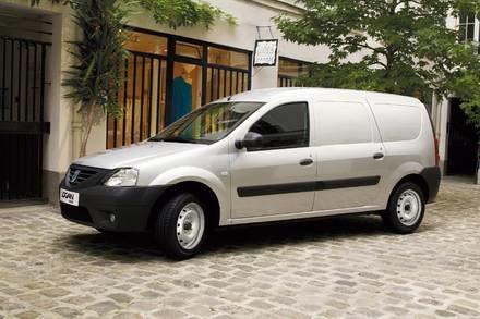 Dacia logan van / Kliknij /INTERIA.PL