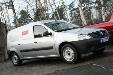 Dacia logan van /INTERIA.PL