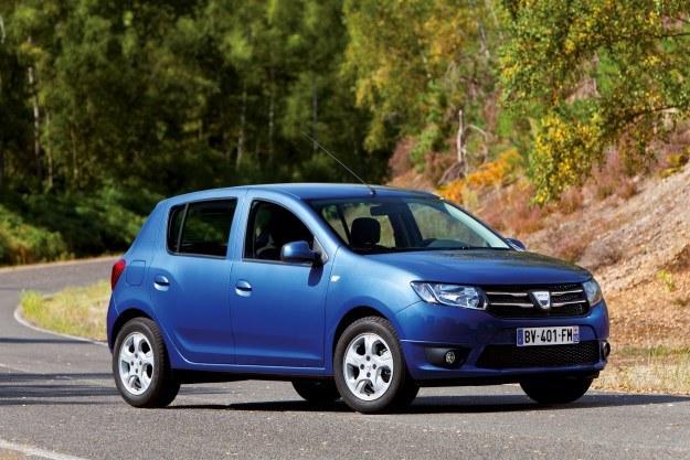 Dacia Sandero (i Logan) to jedyne większe pojazdy mieszczące się w budżecie /