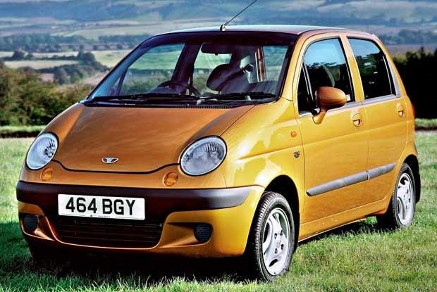 Daewoo Matiz... z kierownicą po prawej stronie (kliknij) /INTERIA.PL
