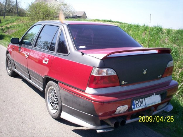 Daewoo nexia sedan tuning.