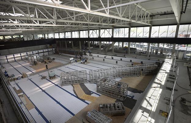 Dagaly Swimming Arena w Budapeszcie /EPA