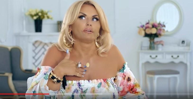 """Dagmara Kaźmierska z """"Królowych życia"""" /YouTube /materiał zewnętrzny"""