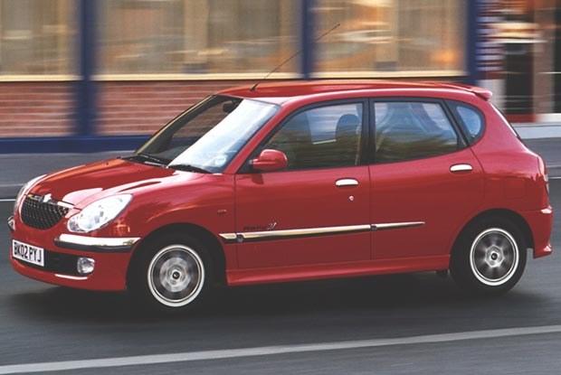 Daihatsu Sirion (kliknij) /INTERIA.PL