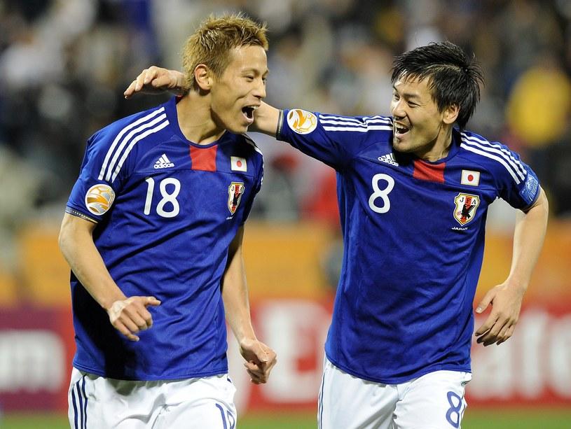 Daisuke Matsui (z prawej) rozegrał w reprezentacji Japonii 31 meczów /AFP
