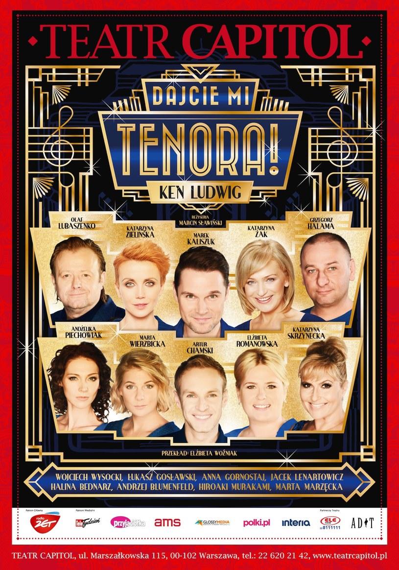 """""""Dajcie mi tenora!"""" w Teatrze Capitol /materiały prasowe"""