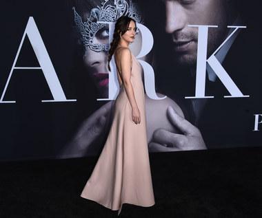 """Dakota Johnson na premierze """"Ciemniejszej strony Greya"""""""