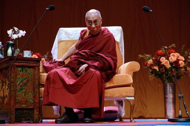Dalajlama stał się celem ataków chińskich hakerów /AFP