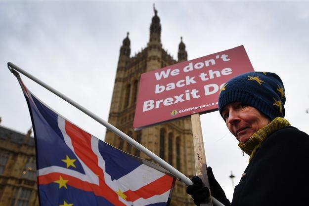 Dalece nie wszyscy Brytyjczycy popierają brexit... /EPA