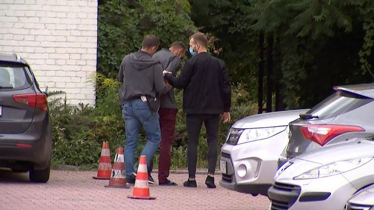 Daleszyce. 39-latek doprowadzony do prokuratury /Polsat News