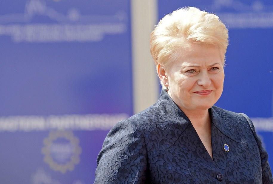 Dalia Grybauskaite /FILIP SINGER /PAP/EPA