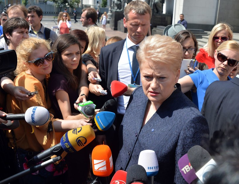 Dalia Grybauskaite /AFP
