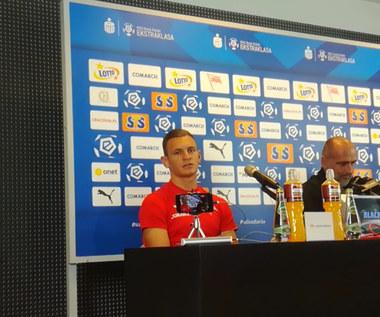 Damian Dąbrowski przed meczem z DAC. Wideo