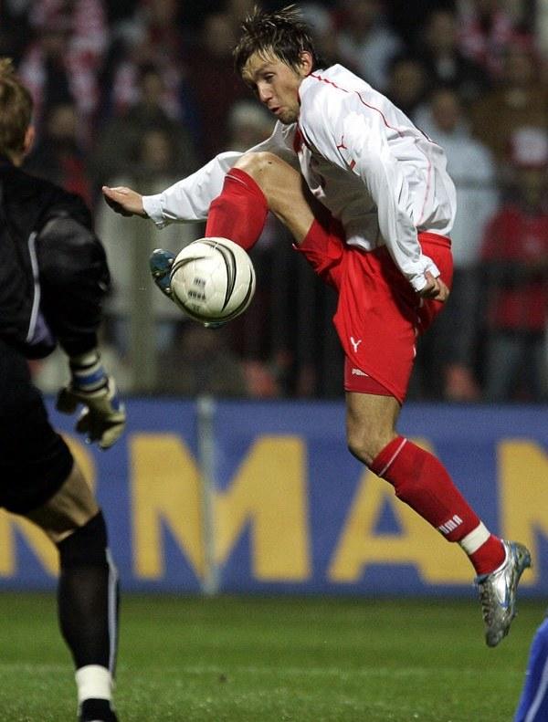 Damian Gorawski wyszarpał dla siebie miejsce w kadrze na MŚ w 2006 r. /AFP
