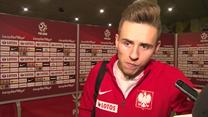 Damian Kądzior po porażce z Czechami. Wideo