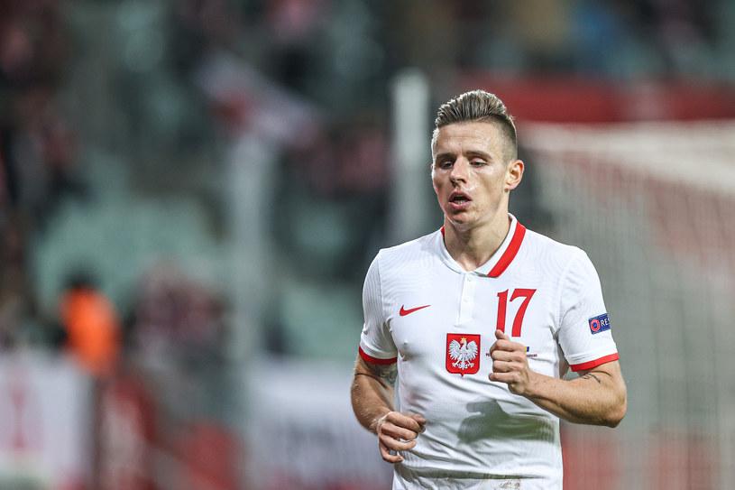 Damian Kądzior w reprezentacji Polski /Fot. Łukasz Grochala /Newspix