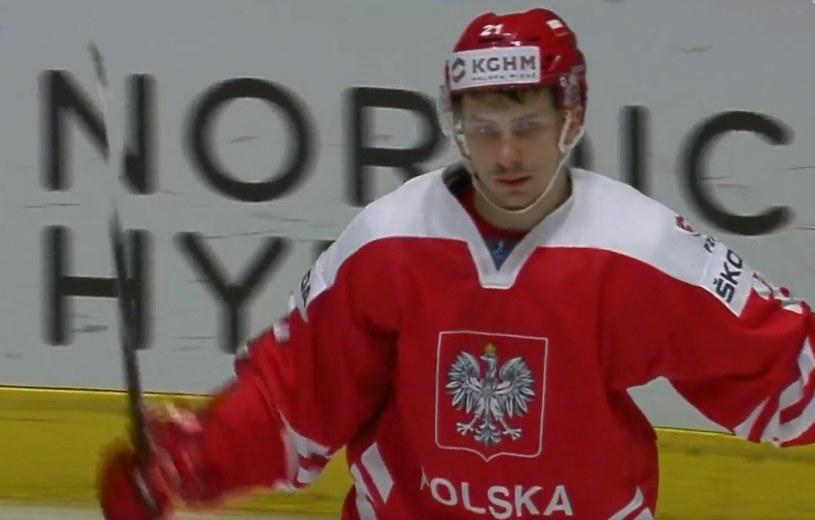 Damian Kapica w meczu z Ukrainą zorganizował festiwal strzelecki /INTERIA.PL
