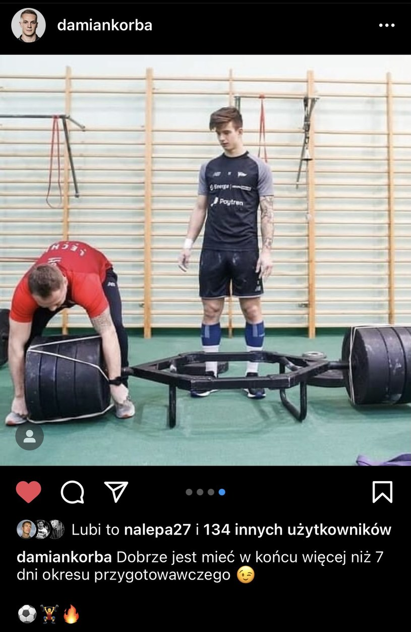 Damian Korba Instagram /Instagram