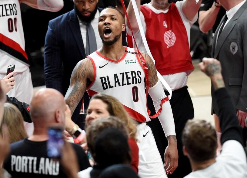 Damian Lillard z Portland Trail Blazers /AFP