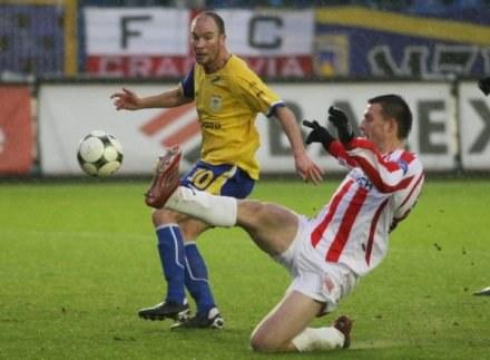 Damian Nawrocik dobrze zagrał przeciw Cracovii. Może teraz trafi pod Wawel / fot. Sławomir Ptasznik /Agencja Przegląd Sportowy