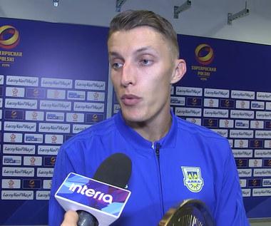 Damian Zbozień (Arka) przed startem nowego sezonu. Wideo