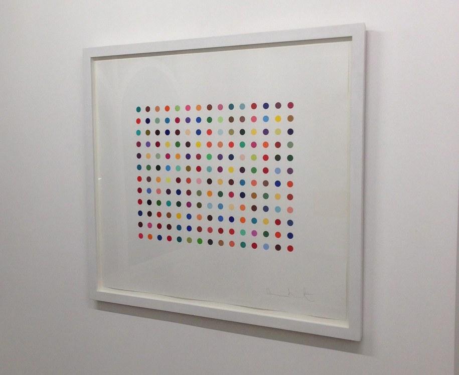 Damien Hirst to czołowa postać ruchu artystycznego Young British Artists /HO /PAP/EPA