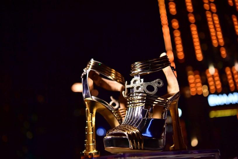 Damskie buty Vietriego Buty o wartości 19,9 miliona dolarów zawierały 30 karatowe diamenty i mały kawałek meteorytu odkrytego w Argentynie w 1576 r. /AFP
