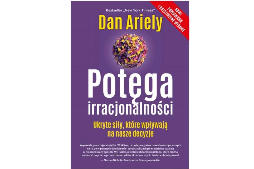 """Dan Ariely, """"Potęga irracjonaloności"""" /materiały prasowe"""