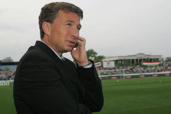 Dan Peterscu chciałby ściągnąć do Wisły Kraków Ionata Mazilu. Fot. Łukasz Grochala /Agencja Przegląd Sportowy